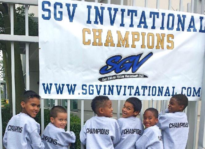 SGV Invitational 2013 - 8u Champions