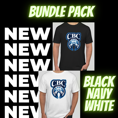 CBC T-Shirt Bundle Pack
