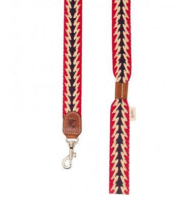 Leine mit Handschlaufe - Peruvian Arrow Red