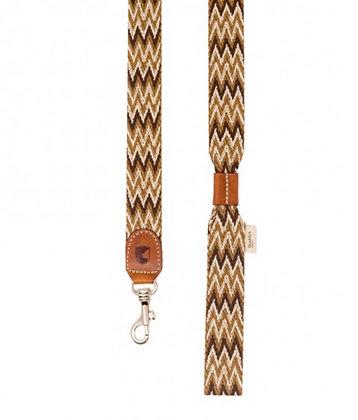 Leine mit Handschlaufe - Peruvian braun