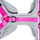 Thumbnail: Geschirr - grau /pink
