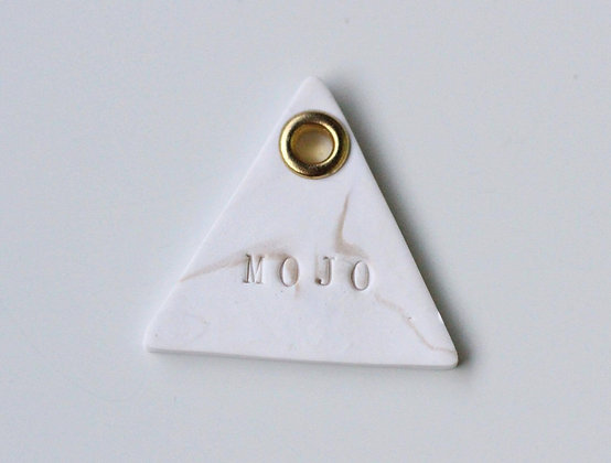 Marble Name Tag