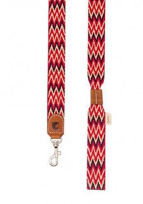 Leine mit Handschlaufe - Peruvian Red