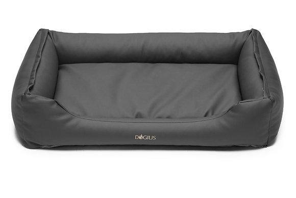 Dogius Bett grau - Reißverschluss System