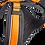 Thumbnail: Geschirr orange / schwarz