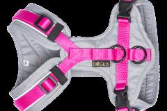 Geschirr - grau /pink