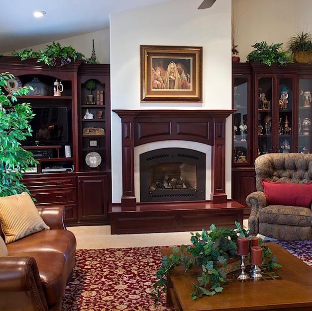 Uibel Fireplace Wall