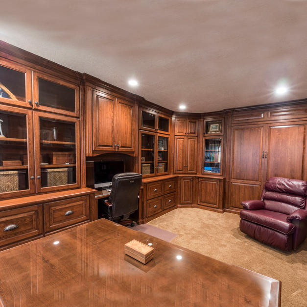 Office with a Murphy bed