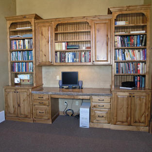 Study and bookcases