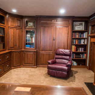 Murphy bed and Office