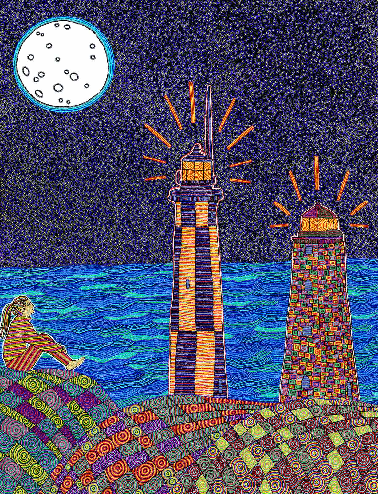 Moon Lighthouses