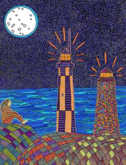 Moon Lighthouses