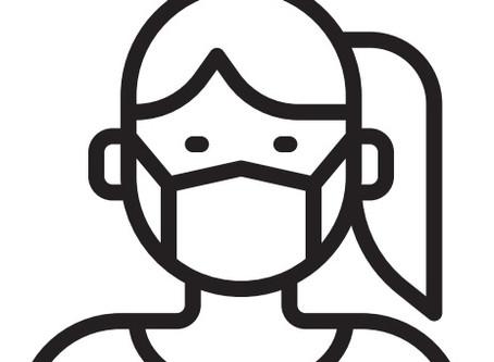 Mund-Nasen-Bedeckung in der Praxis