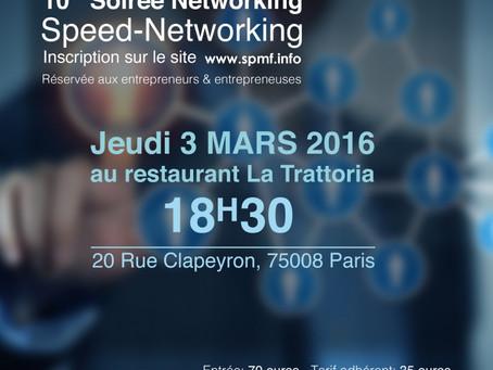 "3 mars 2016 - Premier ""Speed-Networking"""