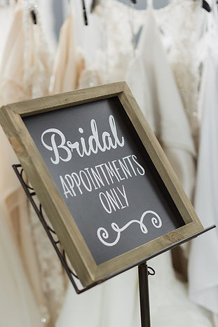 Appointments at Sequins Bridal