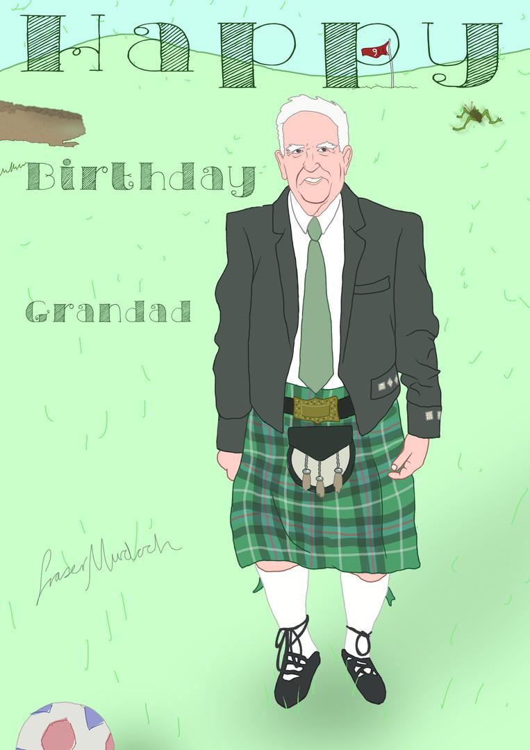 gift greeting card grandad grandfather