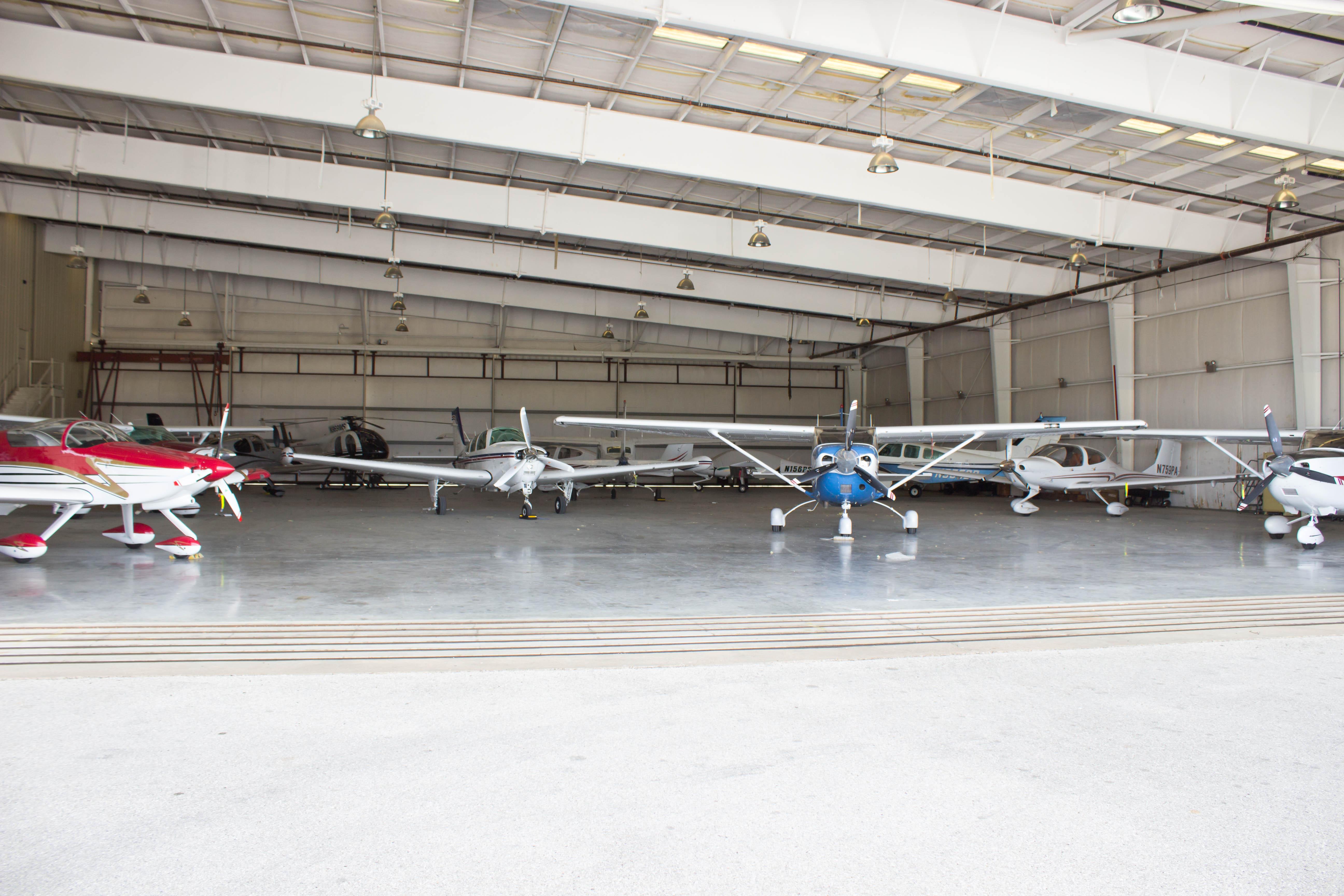 GTU Jet Hangar Space, Austin TX