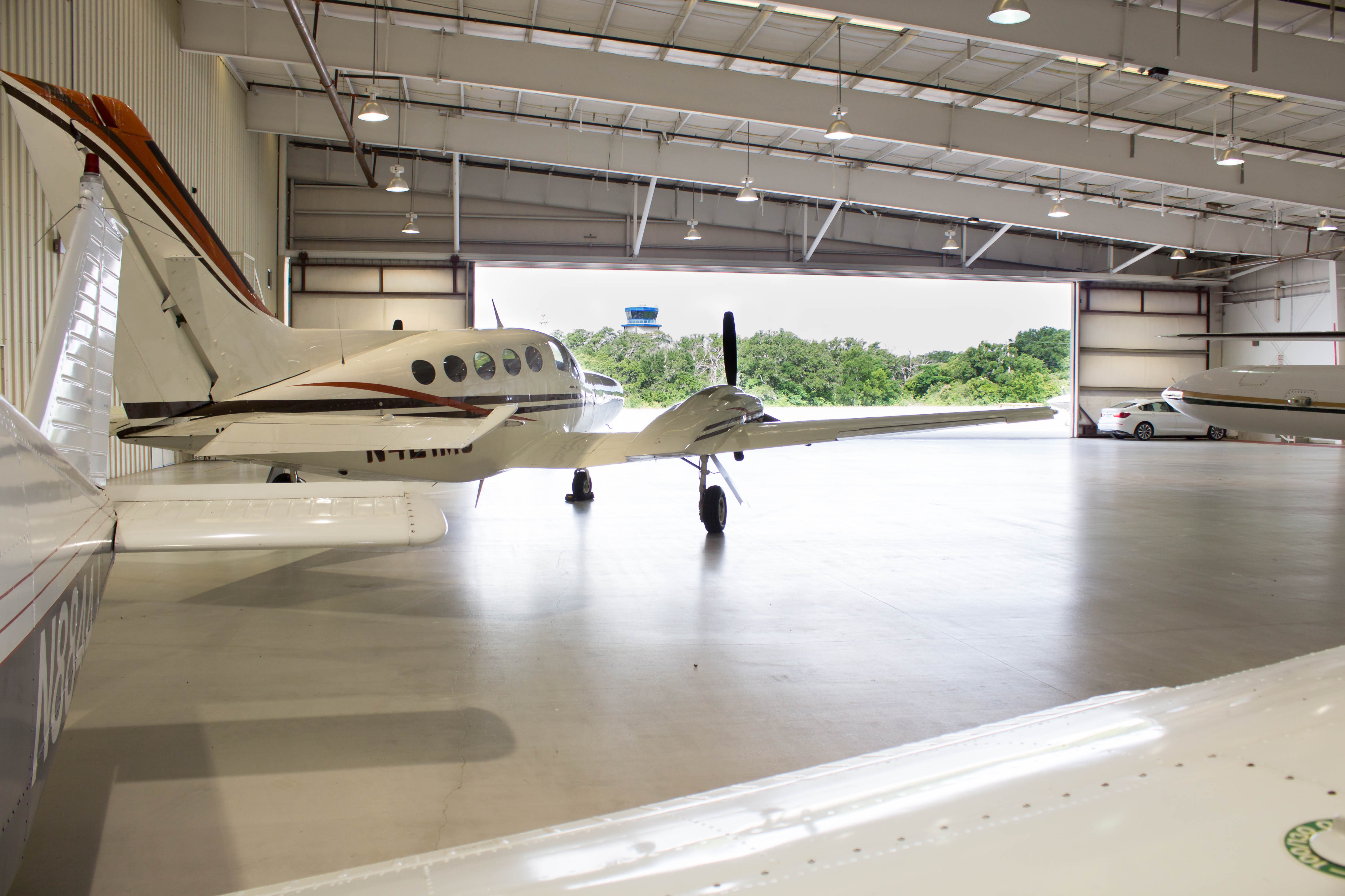 GTU Jet Hangar Space