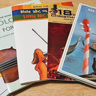 バイオリンの楽譜