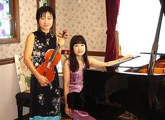バイオリン講師とピアノ講師