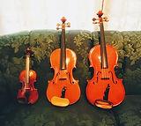 バイオリンとビオラ