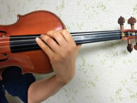 バイオリンで奏でるG線上のアリア