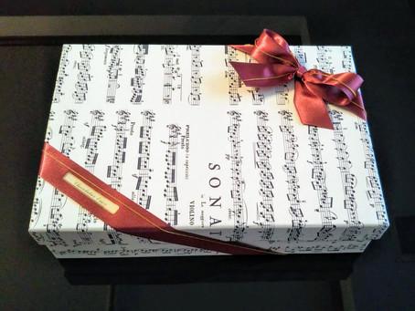 贈り物にも音楽を