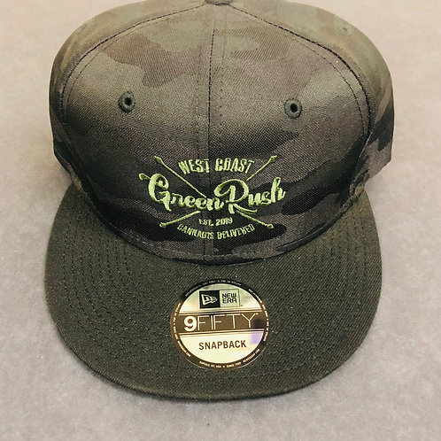Dark green camo hat