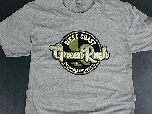 Grey with green and blackT-shirt