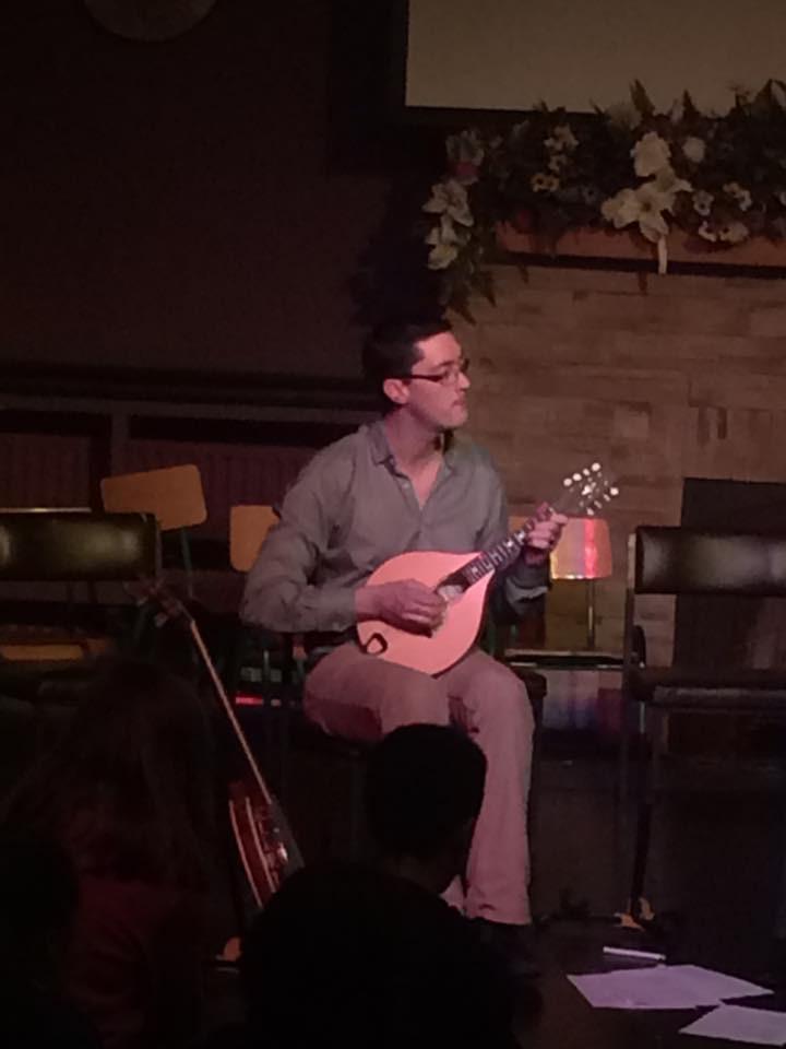 Daithí mandolin