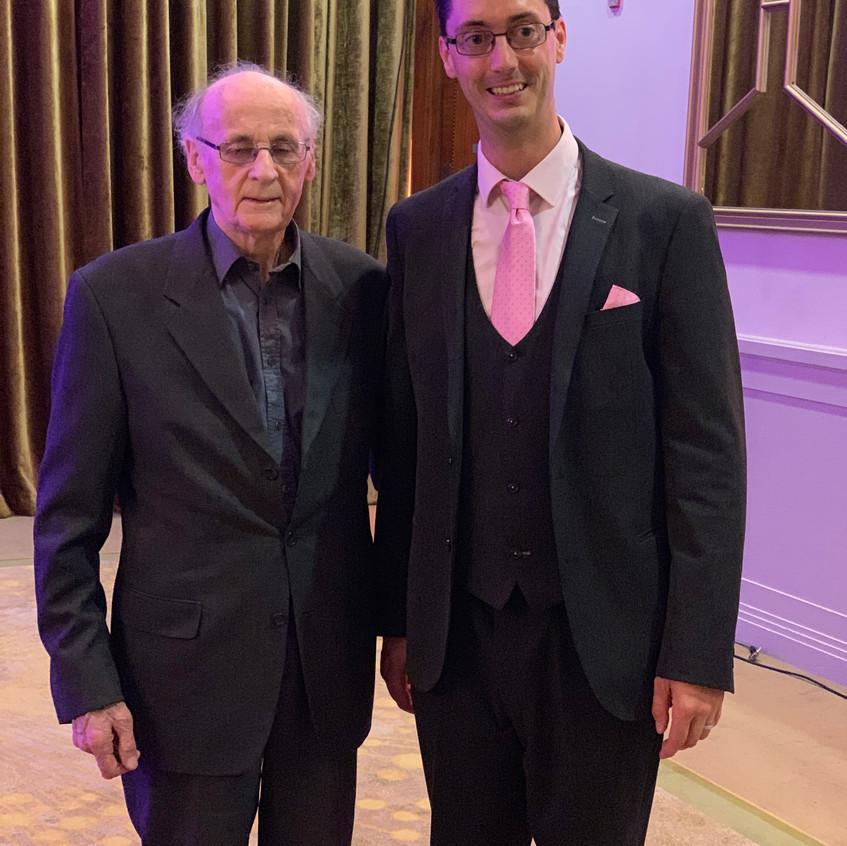 With Ard Ollamh Pat Ahern