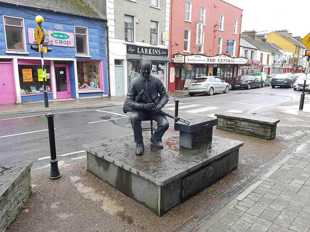 Willie Clancy Monument, Milltown Malbay