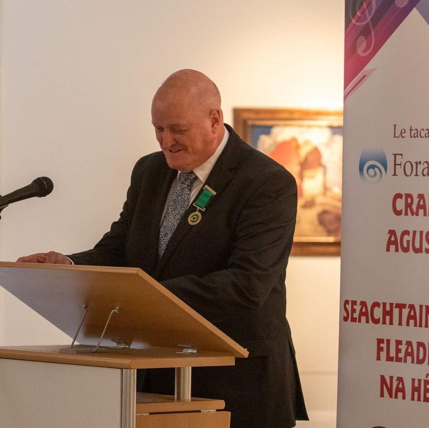 President CCÉ Vince Jordan