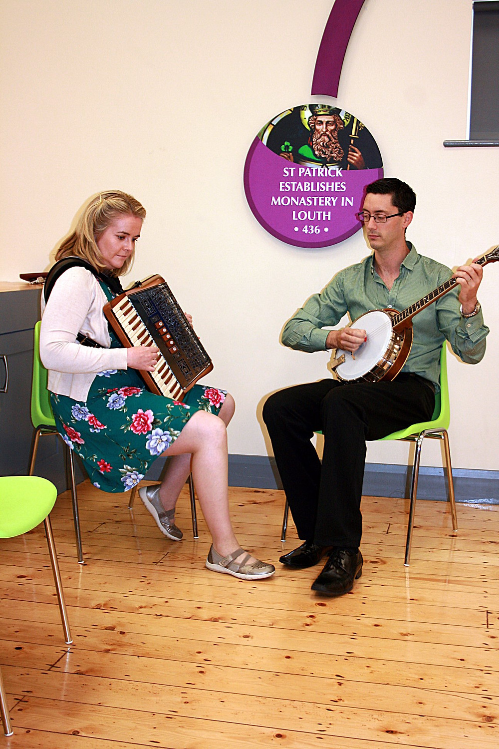 Playing for Pride of Place in Louth Village