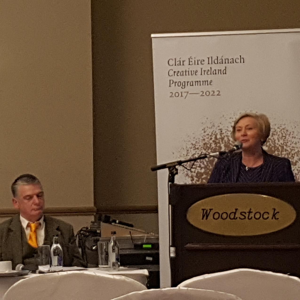 Peadar Ó Riada and Frances Fitzgeral