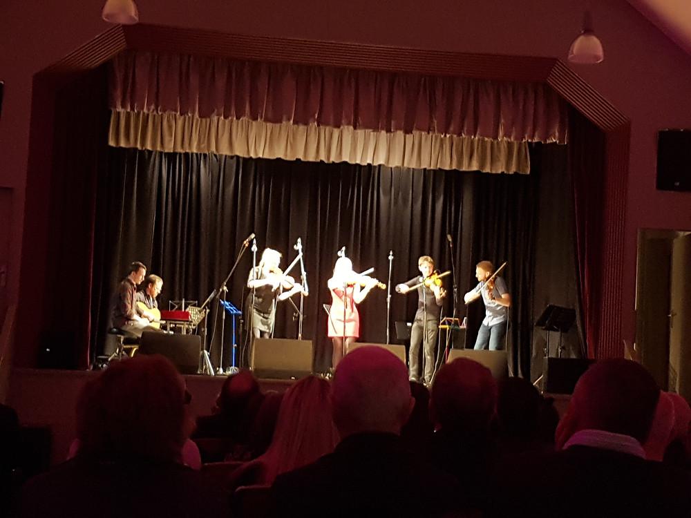 Fochabers Fiddle Week Tutors in Concert