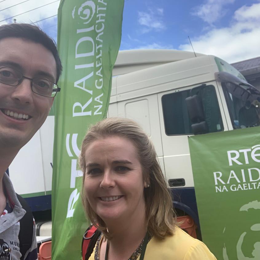 A Louth Lilt on Raidió na Gaeltachta