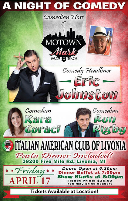 Motown Mark WEB 1 The Italian Club Flier
