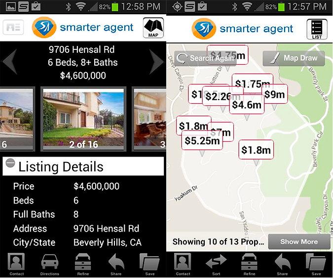 Недвижимость: мобильные приложения