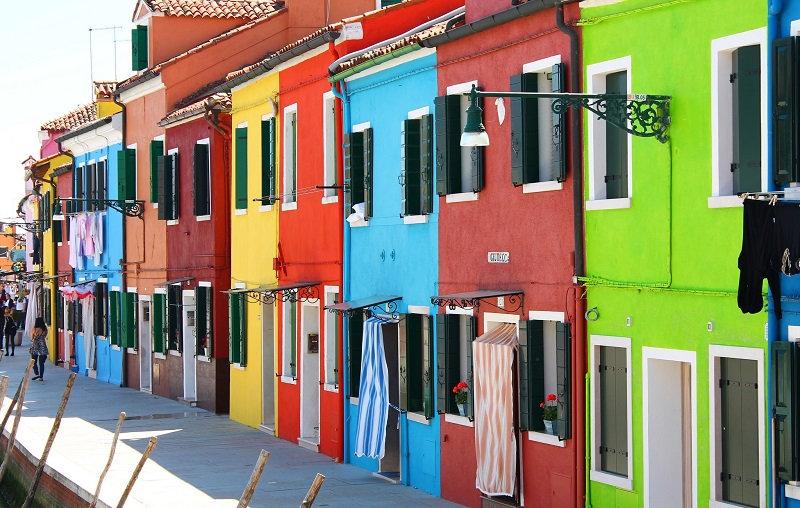 Бурано — самый живописный квартал Венеции