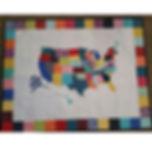 US Map Quilt Tutorial