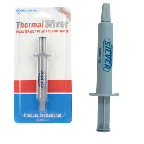 Pasta Térmica Thermal Silver 5g Implastec Notebook Desktop