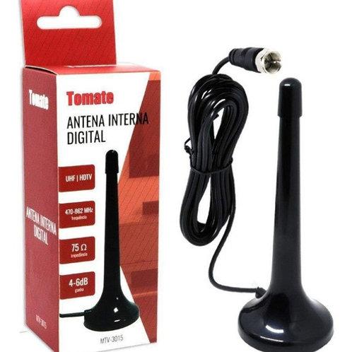 Mini Antena Digital Interna Hdtv Uhf Tomate - Mtv-3015