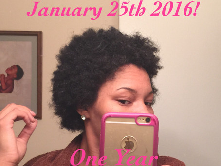 Life after the BIG CHOP!