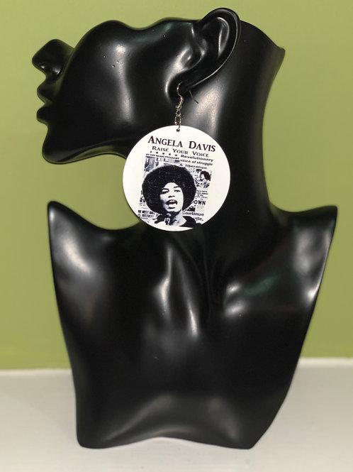 Angela Davis earrings