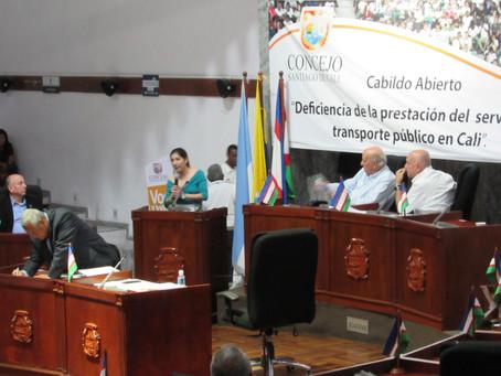 Primer Cabildo Abierto: Movilidad en Santiago de Cali 2019