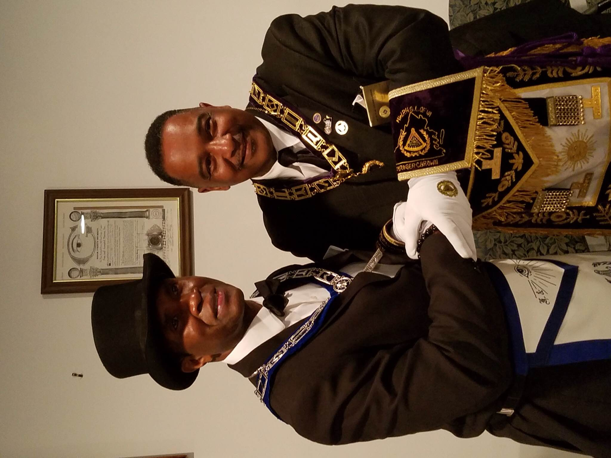 WM LarryTJohnson installed by WGM RogerCBrown