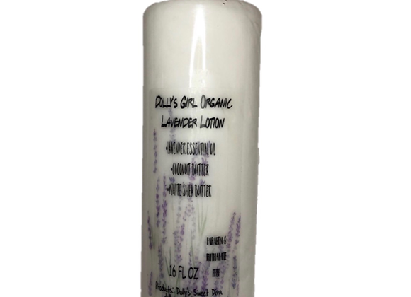 Dolly's Girl Organic Lavender Body Lotion