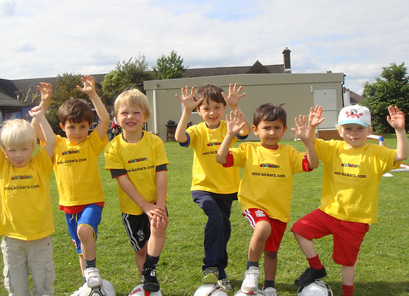 Mini Shooters East Barnet (ages 3-6)