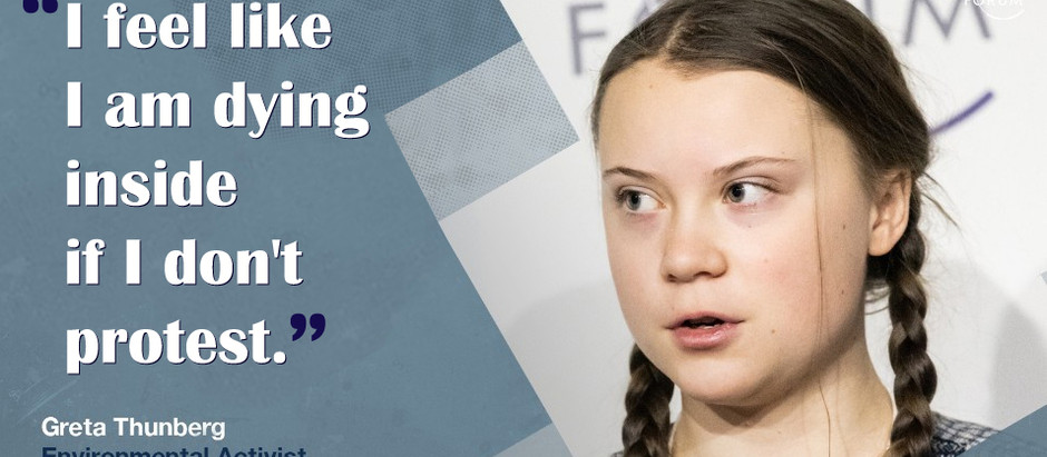 Meet GRETA THUNBERG: A very strong woman who will inspire you!